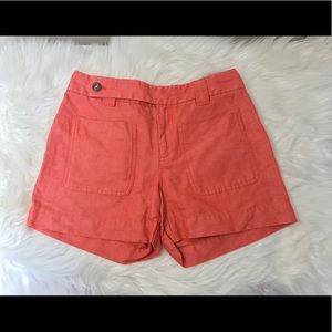 Daughters of the Liberation Coral Dress Shorts